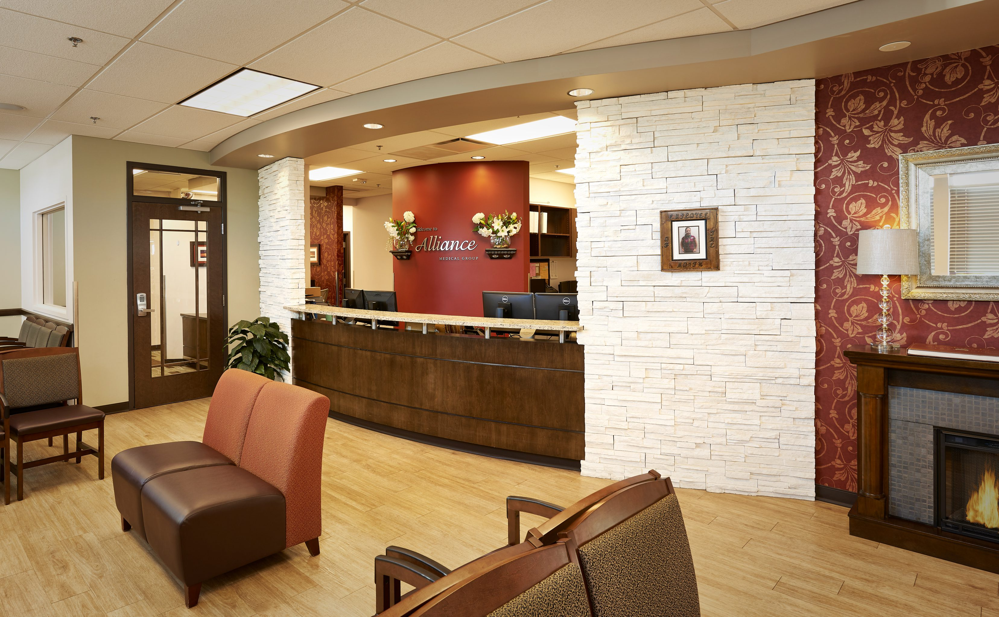 Alliance Urgent Care Interior Lobby Waiting Room Area